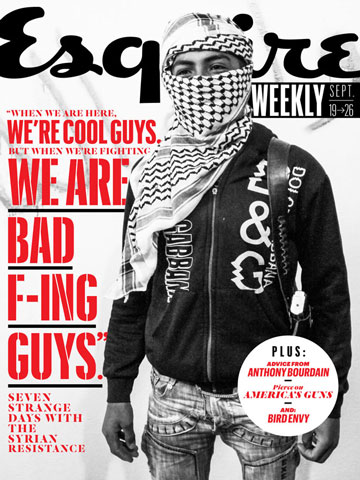 Check out our latest links – including alum Danny Gold's Esquire Weekly dispatch out of Syria chronicling the time he spent with a band of young rebels.