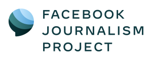 Facebook Journalism Project logo