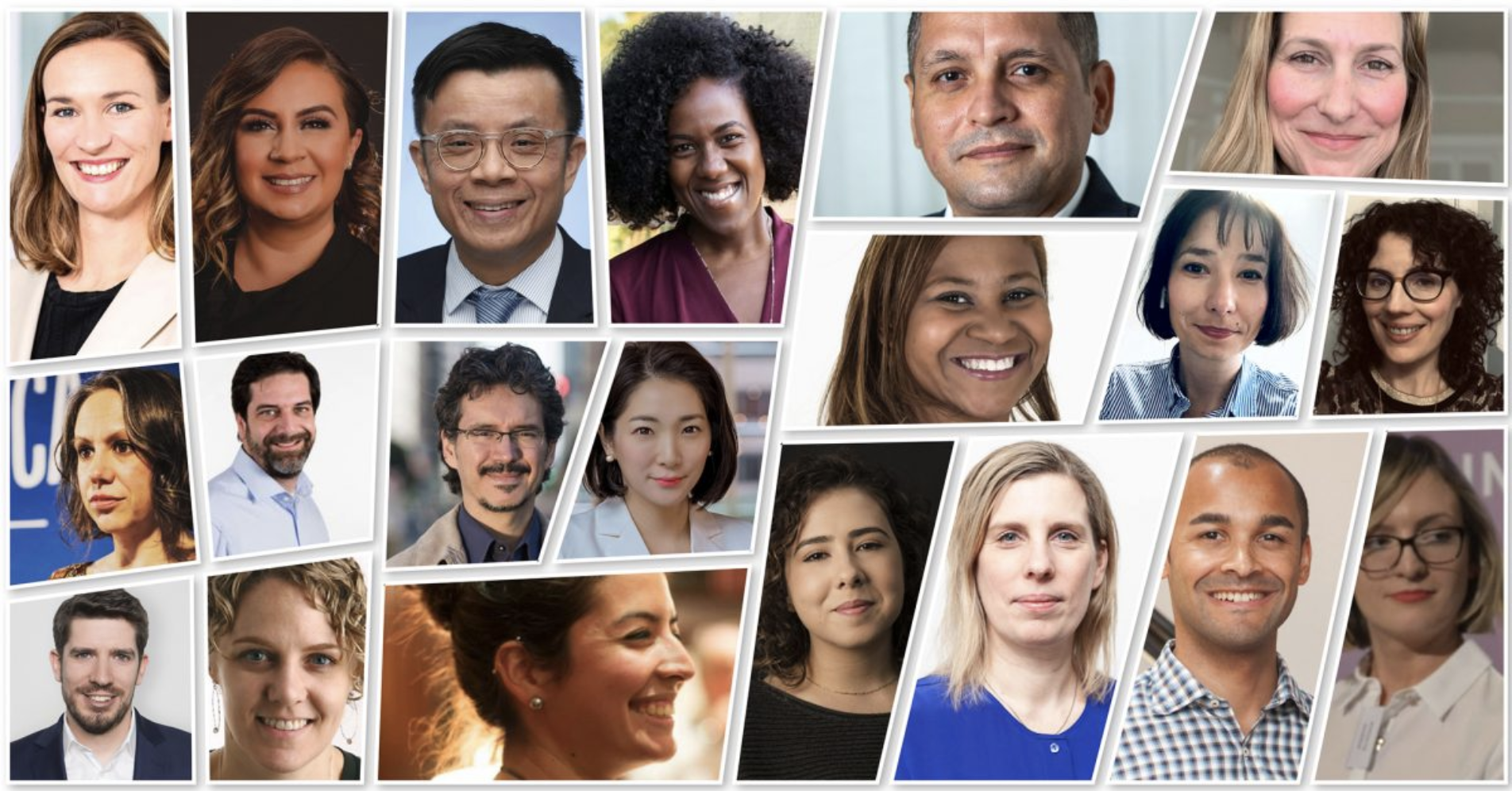 Collage pictures of the 2022 Executive Program cohort