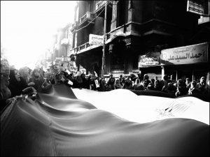 Amr Alfiky Egyptian street protest shot